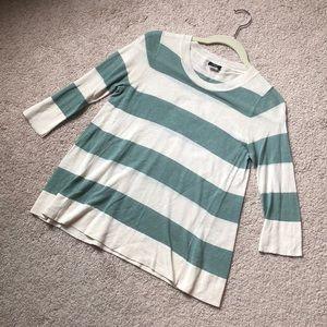 J Crew Striped knit top